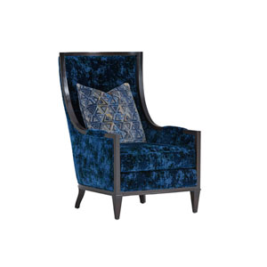 Carlyle Blue Greenwood Chair