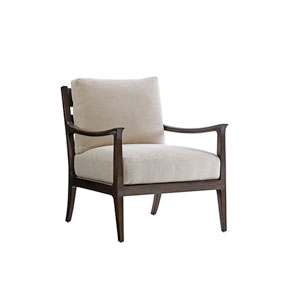 Laurel Canyon Beige and Brown Miramar Chair