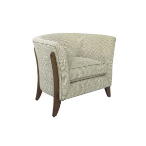 Laurel Canyon Light Gray and Brown Westgate Chair
