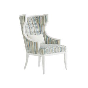 Avondale White Dover Chair