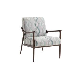 Ariana Gray and Blue Warren Chair