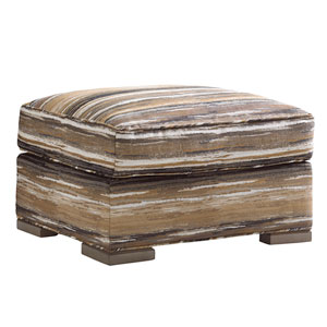 Shadow Play Brown Delshire Ottoman