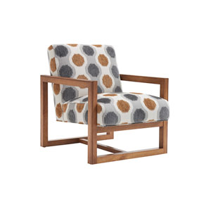 Kitano Brown and Gray Harrison Chair