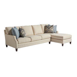 Upholstery Beige Bedford Sectional