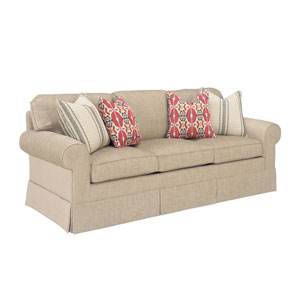 Upholstery Beige Bedford Sleeper Sofa