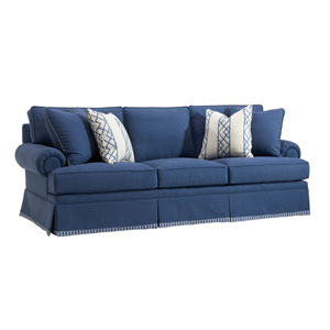 Upholstery Navy Blue Townsend Sofa