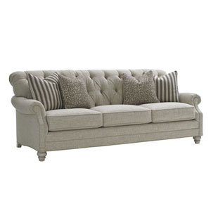 Oyster Bay Gray Greenport Sofa