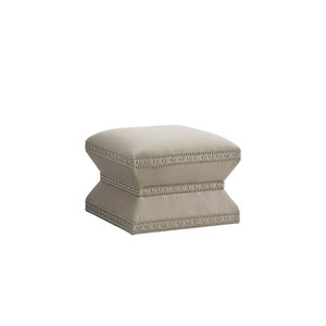 Laurel Canyon Gray Wheatley Ottoman