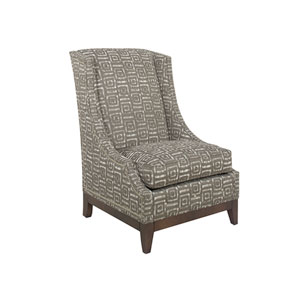 Ariana Brown Ava Wing Chair