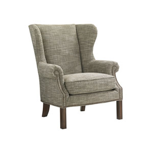 Upholstery Green Logan Wing Chair