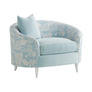 Avondale Blue and White Nash Tub Chair
