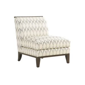 Macarthur Park White and Gray Branford Chair
