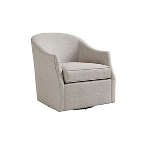 Ariana Gray Escala Swivel Chair