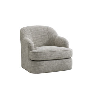 Laurel Canyon Gray Alta Vista Swivel Chair
