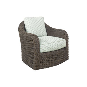 Oyster Bay Brown Seabury Swivel Chair