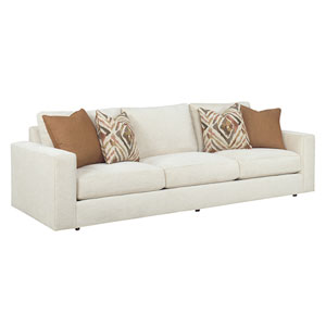 Laurel Canyon White Bellvue Sofa