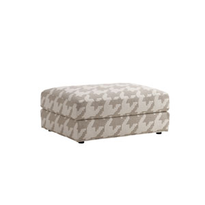 Laurel Canyon Beige Bellvue Ottoman