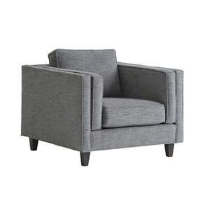 Santana Gray Brenner Chair