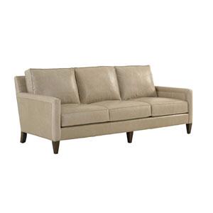 Macarthur Park Beige Foxboro Leather Sofa