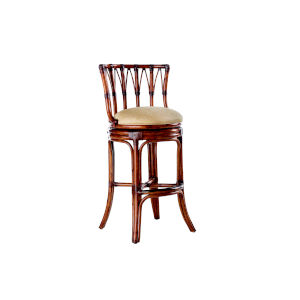 Island Estate Brown South Beach Swivel Bar Stool