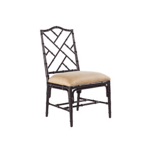 Island Estate Black Ceylon Side Chair