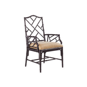 Island Estate Black Ceylon Arm Chair