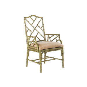 Island Estate Green Ceylon Arm Chair
