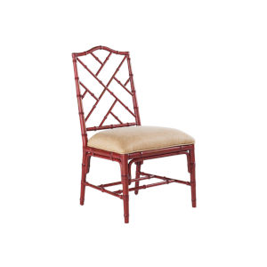 Island Estate Red Ceylon Side Chair