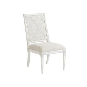 Ocean Breeze White 39-Inch Regatta Side Chair