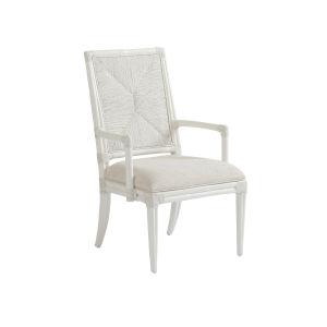 Ocean Breeze White 39-Inch Regatta Arm Chair