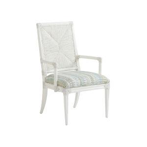 Ocean Breeze White Regatta Arm Chair