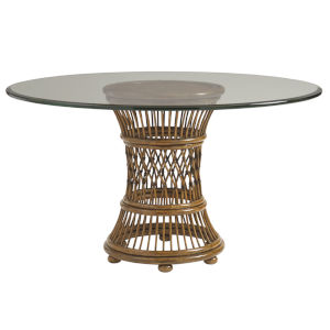 Bali Hai Brown Aruba Dining Table Base