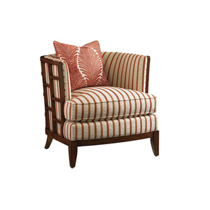 Ocean Club Brown, Red and Orange Abaco Chair