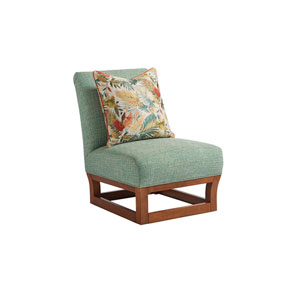 Ocean Club Brown and Green Fusion Chair
