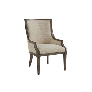 Ivory Key Brown and Beige Aqua Bay Chair