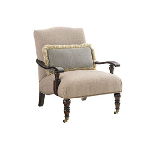 Tommy Bahama Upholstery Brown and Beige San Carlos Chair