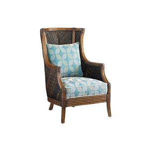 Island Estate Brown and Blue Rum Beach Chair
