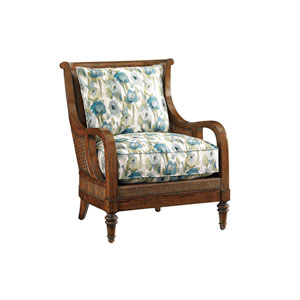 Bali Hai Brown, Blue and Green Island Paradise Chair