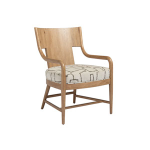 Los Altos Brown and Ivory Radford Chair