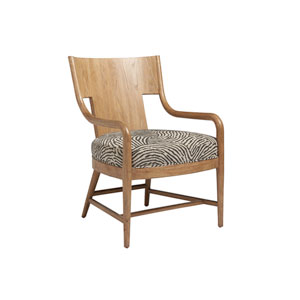 Los Altos Brown and Beige Radford Chair
