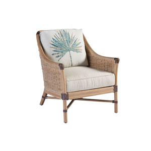Los Altos Brown and Ivory Ashmore Chair
