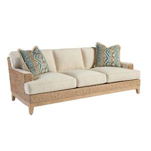 Los Altos Brown and Ivory Danville Sofa