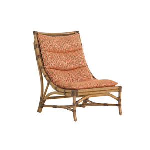 Twin Palms Brown and Orange Hammock Bay Chair