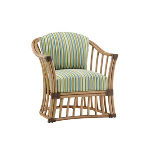 Twin Palms Brown and Green Paradise Cove Chair