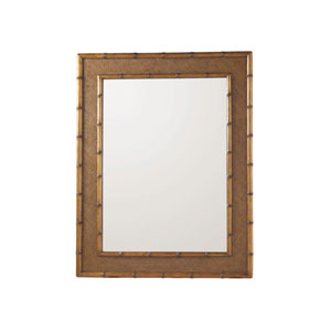 Island Estate Brown Palm Grove Mirror