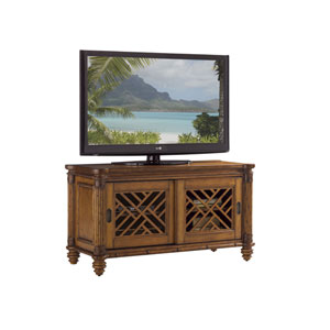 Island Estate Brown Grand Bank Media Console