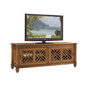 Island Estate Brown Nevis Media Console