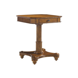 Island Estate Brown Cinnamon Cove Lamp Table