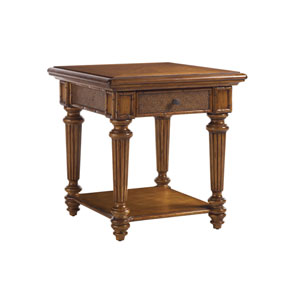 Island Estate Brown Boca End Table