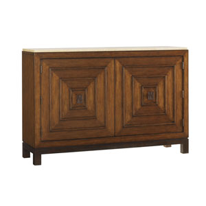 Ocean Club Brown Jakarta Chest With Stone Top